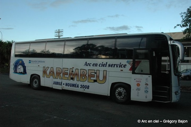 Jubilé Karembeu - Bus personnalisé - tailored designed bus 3